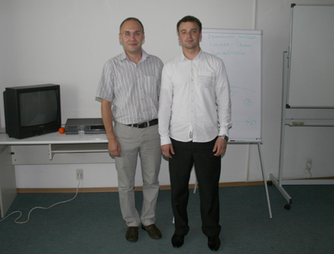 Алмаз Закиров, бизнес тренер. 2010 год